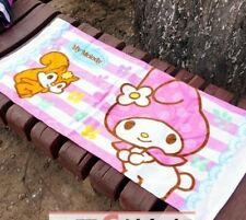 Hello Kitty, My Melody Leopard Print Washcloth Hand Towel 80x34cm ML216