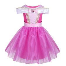 Girls Kids Princess Fancy Dress Party Cosplay Fairy Tale Dress Up Costume Outfit