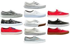 Vans Authentic Classic Men's Women's Unisex Sneaker Skate Shoes Shoes