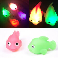 Bathroom LED Light Kids Toys Water Induction Waterproof In Tub Bath Time Fun HS