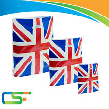 HIGH QUALITY PLASTIC PATCH HANDLE UNION JACK CARRIER BAGS