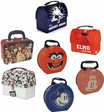 Disney / Muppets / Sesame Street - Tin Tote Lunch Box Storage - New & Official