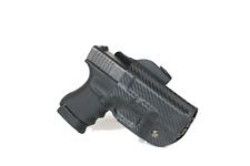 Tactical OWB Kydex Paddle Gun Holster Open Carry with Adjustable Retention -oK
