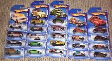 HOT WHEELS '10 CITY WORKS, GARAGE, PERFORMANCE, HOT RODS, NIGHTBURNERZ  BIN 1 23
