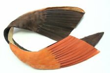 Feather bandeau wing trim, 3701 NOS vintage millinery hat supplies 1920s
