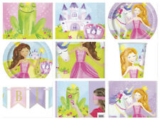 Magical Princess Girls Birthday Party Cups Plates Napkins Decorations Loot Bags