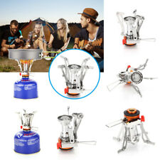 Ultralight Portable Backpacking Gas Burner Stove Butane Outdoor Camping Cooking