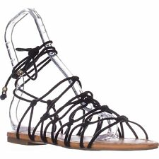 INC International Concepts Womens Gallena Round Toe Casual Strappy Sandals