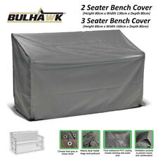 BULHAWK 2 OR 3 SEATER BENCH COVER WATERPROOF SUPERIOR QUALITY GARDEN FURNITURE