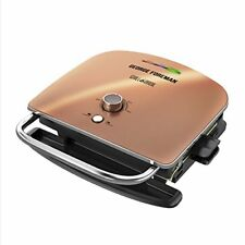 George Foreman Grill & Broil 6-in-1 Electric Indoor Broiler Panini Press and Top