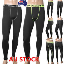 Men's Compression Pants Base Layer Tights Workout Fitness Gym Sports Trousers