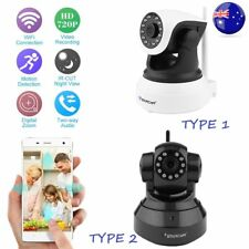 1/2X Night Vision Wireless Pan Tilt HD 720P IP WiFi Camera Security CCTV Net AB