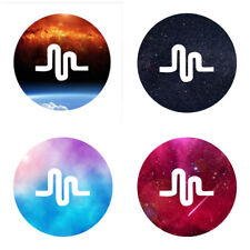 Universal POP Heartbeat Music Round Phone Holder Cute For Smartphones iPhone X S