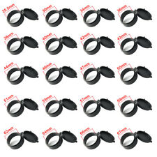 1PCS Hunting Rifle Lens Scope Cover Flip Up Cap Open Objective Eye Hunting Black