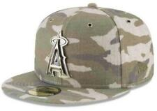 Official MLB Los Angeles Angels Antique Camo New Era 59FIFTY Fitted Hat