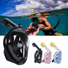 New Anti-Fog Full Face Mask Swimming Underwater Diving Snorkel Scuba GoPro Tool