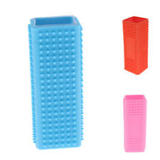 Pet Dog Puppy Cat Grooming Brush Comb Depilation Soft Silicone Sticky Hair Tool