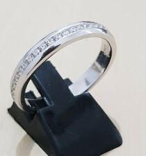 925 Sterling Silver Ladies Diamond Full Eternity Wedding Engagement Band Ring