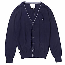 Mens Casual Long Sleeve Button Down V-Neck Cardigan