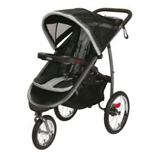 Graco Fastaction Fold Jogger Click Connect Stroller, Gotham, One Size