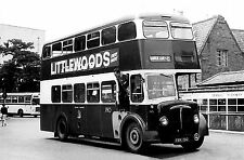 COVENTRY Corporation Buses Sets of 10 6x4 ins Black+White or Colour print photos