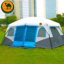 Big Tent 10-12 Person Driving Two-Bedroom Double Automatic Tent Camping Tent