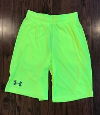 NEW BOY'S YOUTH UNDER ARMOUR HEAT GEAR LOOSE FIT VOLT BASKETBALL SHORT MED & XL
