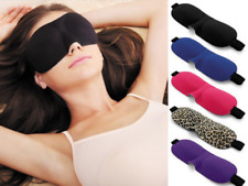 3D Eye Mask Soft Aid Padded Travel Shade Cover Relax Rest Sleeping Blindfold