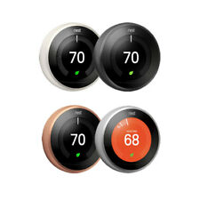 Brand New Nest 3rd Generation Learning Programmable Thermostat Works with Alexa