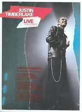 NEW--Justin Timberlake - Live From London(DVD/CD)
