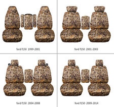 Ford f150 1999-2014 cotton car seat covers camo wetland , select  seat style