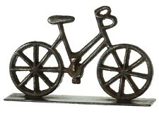 Enjoy the Ride Bicycle Tabletop Figurine Rustic Cast Iron