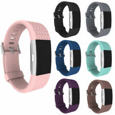 Fitbit Charge 2 Replacement Strap Band Bracelet Silicone Wristband Watch Bands