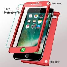 Luxury 360 Full Protection Cover Case for iPhone 7 8 6s Plus Protective Phone Ca
