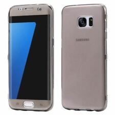 Ultra Thin Soft Clear Flip Cases For Samsung Galaxy S7 S6 Edge S8 S8 Plus Case C
