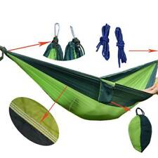 Hammock For Two Person Parachute Outdoor Lover Nylon Fabric Portable Travel Tool