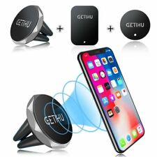 Car Phone Holder Magnetic Air Vent Mount Mobile Smartphone Stand Magnet Support