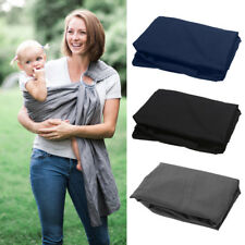 Baby Carrier Sling Backpack Solid Breathable Cotton Blend Wrap Double Adjustable