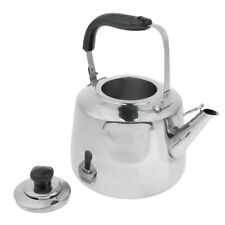 Perfeclan Stainless Steel Water Kettle Safe Durable Camping Whistling Kettle