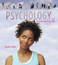 Psychology in Everyday Life by David G. Myers (2011, Paperback)