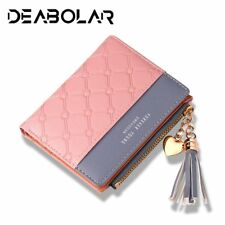 2018 New Women's Cute Fashion Purse Leather Long Zip Wallet Coin Card Holder