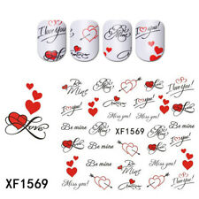 3 Sheets 3D DIY Nail Art Transfer Stickers Adhesive Crafts Paper Manicure Decals