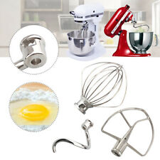 Artisan Whip Mixer Set 7&8 Qt Flat Beater Wire Whip Dough Hook For KitchenAid H