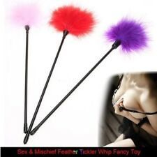 1x Feather Tickler Foreplay Tease Tactile Tool Kinky Naughty Fancy Sex Aid Toy