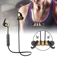 Wireless Bluetooth Earphone Earbuds Magnetic Headphones Sports Stereo Headset