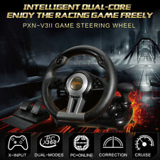 PXN V3II Racing Game Steering Wheel Braking Pedal for PC PS3 PS4 Xbox One Switch