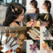 Fashion Crystal Flower Bobby Pin Hair Clip Hairband Comb Barrette Hairpin Charms