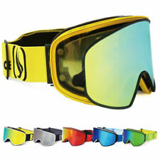 Ski Goggles 2 in 1 with Magnetic Dual-use Lenses Night Skiing Snowboard Goggles