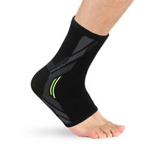 EB_ Sport Football Ankle Support Brace Compression Elastic Foot Protector Fashio