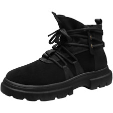 Mens Athletic Sneakers  Sports Winter Warm Running Martin Shoes High-top Shoes